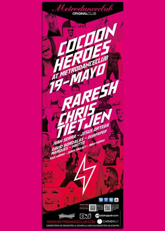 19 MAYO 2012 COCOON HEROES