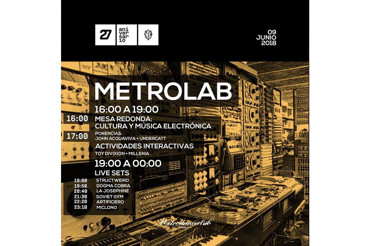 metrolab horarios