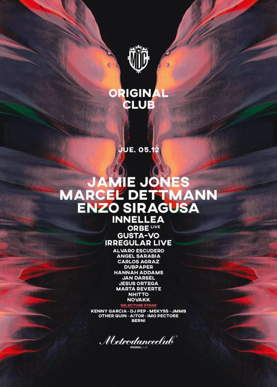 portada original club metro dance club completa 2019